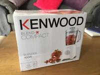 Kenwood Blend-X Compact Blender - Brand New In Box