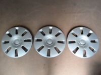 Ford Focus Wheel Trim x 3 in Excellent Condition