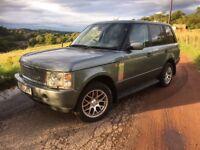 *** Range Rover vogue 3.0d swap px car van ****