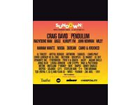 Cheap sundown festival tickets no booking fee