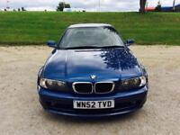 2003 Bmw 318 Ci 2.0 Se Coupe Blue Metallic