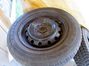 Toyota Camry P205/65 R15 winter tires and rims in good shape.