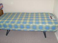 Small folding single bed