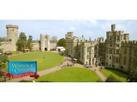 Warwick Castle Tickets Monday 14th August