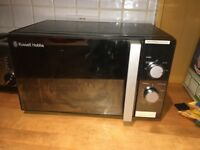Russell Hobbs microwave - 1 year old