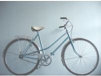 Gorgeous French Made Mixte, Lightweight Single Speed freewheel/not fixie, serviced