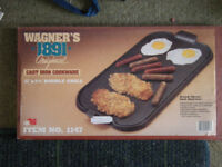 CAST IRON DOUBLE GRIDDLE BOXED