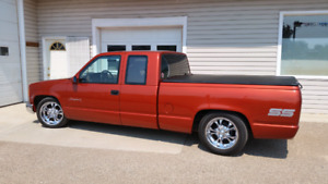 91  gmc   Ext  Cab      fully  equipped  will swap ?