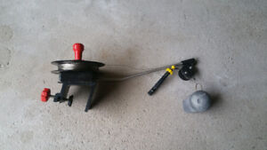 """"""" SCOTTY MINI TROLL CLAMP ON DOWNRIGGER FOR SALE """""""