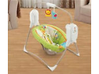 New Rain Forest Space Saver Swing Chair