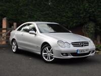 2006 Mercedes CLK 220 CDI AVANTGARDE, FACELIFT, DIESEL, MANUAL, SILVER
