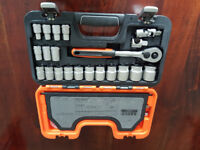 Bahco S240 Socket Set 24 Piece 1/2 Square Drive