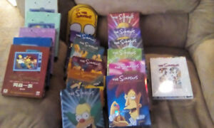Simpsons seasons 1-17 and 20 ( 11-17 new sealed )
