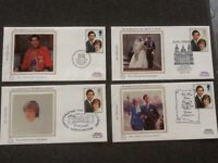 Prince of Wales Marriage stamps