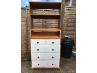 Chest of drawers/baby changing unit