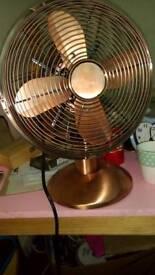 Copper fan
