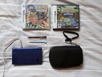 Nintendo DSi with Pokemon Platinum & Pokemon Mystery Dungeon