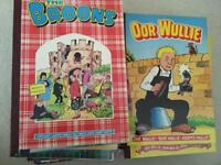 Broons and Oor Wullie annuals x29