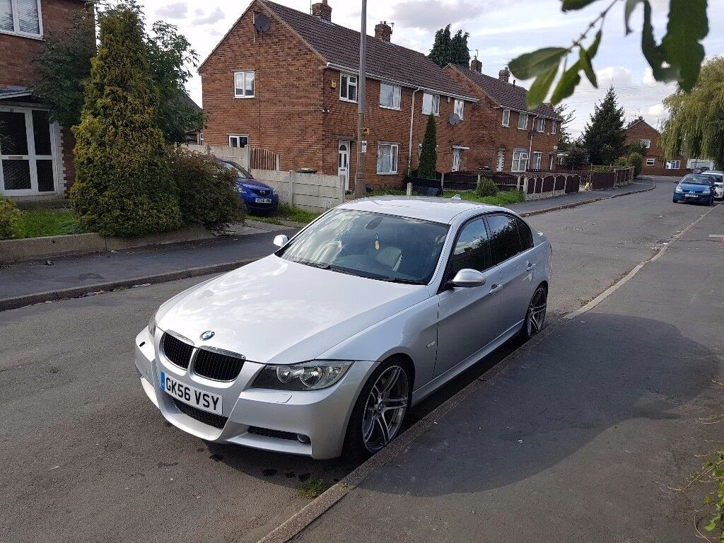 330d msport 6 speed manual 56 fully loaded /leather seats sat nav remapped new clutchand fly wheel