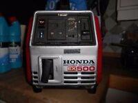 Honda ex500 portable generator