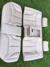 Full Mercedes grey leather electronic interior