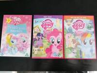 My little pony DVD bundle