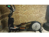 Nordic Track E12.0 Rear Drive Foldable Elliptical Cross Trainer with Powered Incline Ramp - Stunning