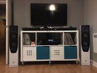 4 x KODA D65F 2-WAY FLOOR STANDING SPEAKERS - £250