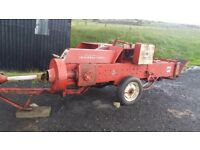 International B47 conventional baler