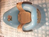 BRAND NEW BECOPOTTY - UNISEX ECO POTTY - BIODEGRADABLE - LIGHT BLUE - MOTHER & BABY SILVER AWARD
