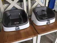 Ingenuity Smartclean toddler booster seats x2
