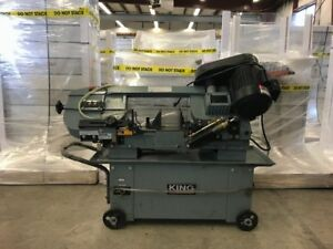 "KING CANADA 7"" X 12"" METAL CUTTING BANDSAW"