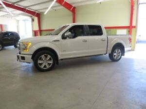 2015 Ford F-150 Platinum Eco Boost Many To Choose From