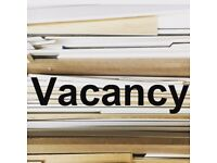 Experienced FT Picture Frame Fitter/Consultant