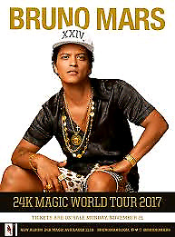 Lower Bowl seats Bruno Mars July 30th