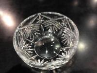 Galway crystal bowl