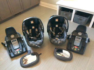 Peg Perego Primo Viaggio Pois Grey Car Seat For Sale