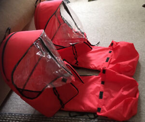 2 infant sled covers both 2 for $10