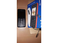 NOKIA 108 MOBILE PHONE WITH £12 CREDIT. TESCO NETWORK