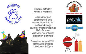 Microchip Clinic & Open House!