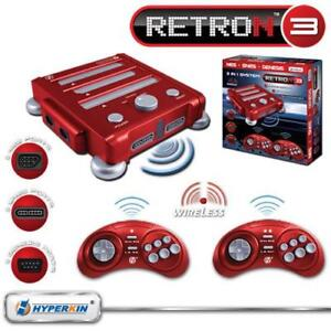 Retron3 for NES,SNES & Sega + 8controllers