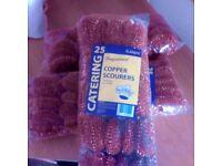 Copper scourers