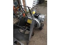 petrol garden shredder