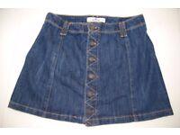 Hollister denim skirt size 1 w25