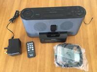 Sony FM/AM Clock Radio with iPod iPhone Dock ICF-C1iPMK2