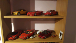 6 collector cars.