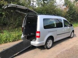 2013 Volkswagen Caddy Maxi Life 1.6 TDI 5dr DSG AUTOMATIC WHEELCHAIR ACCESSIB...