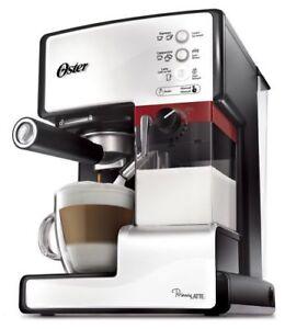 Oster Prima Latte 3-in-1 Latte, Espresso & Cappuccino Maker