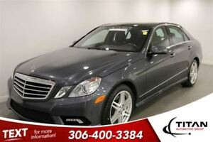 2010 Mercedes-Benz E-Class E550|4matic|Htd. Leather|Sunroof|PST