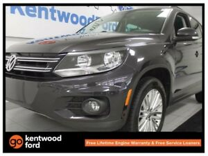 2016 Volkswagen Tiguan Highline 2.0L turbo AWD 4Motion with a ba
